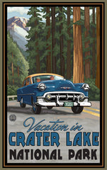 Crater Lake National Park / Vacation In Crater Lake Poster • PAL-2680