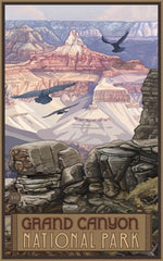 Grand Canyon National Park / Majestic Elk Poster • PAL-0381