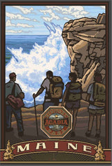 Acadia National Park/Thunder Hole Poster • PAL-4728