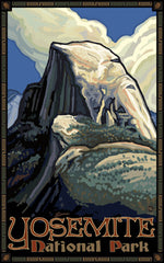 Yosemite National Park / Half Dome Poster • PAL-0090