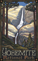 Yosemite National Park/Waterfall Poster • PAL-0091