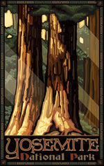 Yosemite National Park / Sequoia Forest Poster • PAL-0093