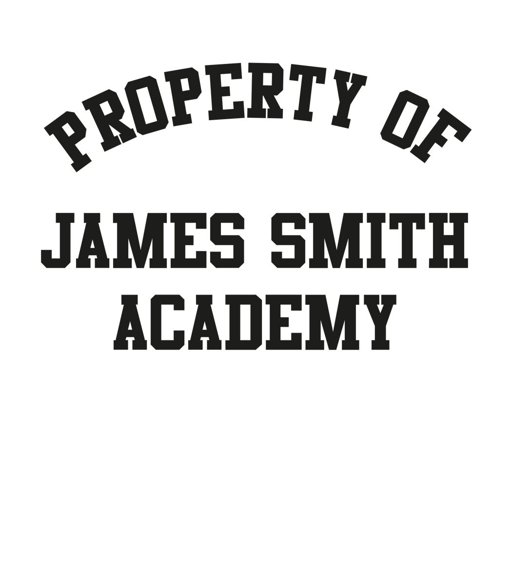 Property of James Smith