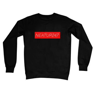 Crew Neck Sweatshirt | Black S,M,L