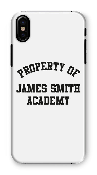 JSA | Phone Case | White