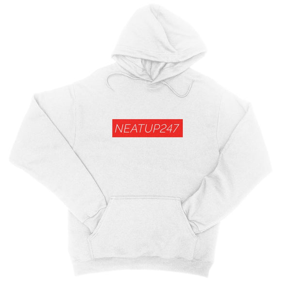 College Hoodie | White