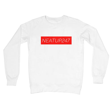 Crew Neck Sweatshirt | White