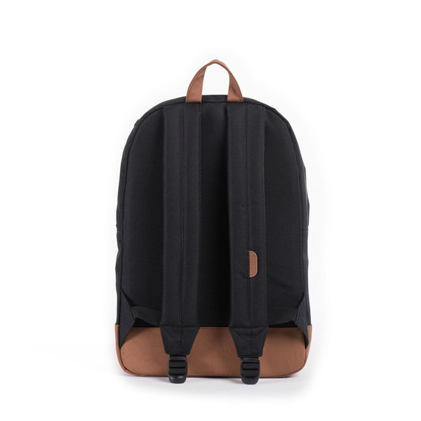 Herschel Supply Company HERITAGE BACKPACK BLACK/TAN