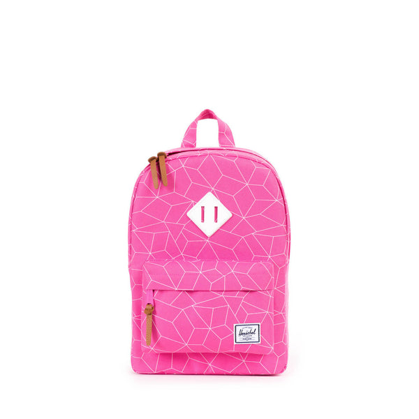 Herschel Supply Company KIDS | HERITAGE BACKPACK Pink Sequence/White