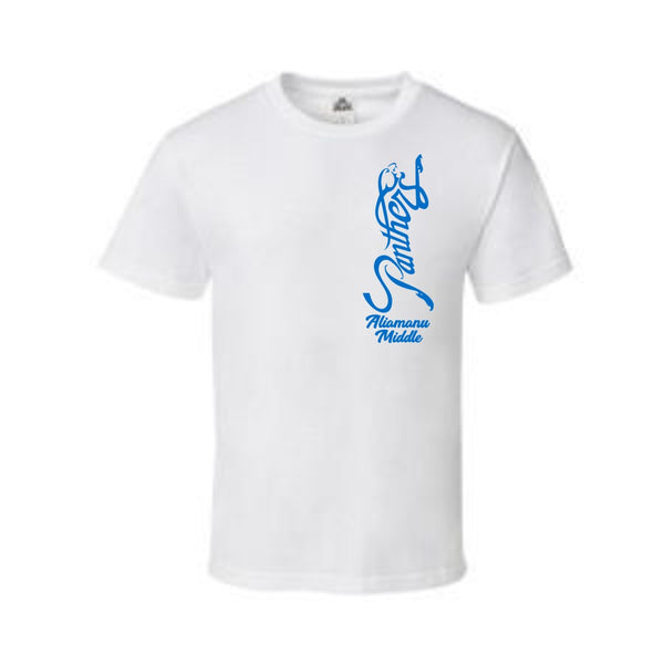 Aliamanu Middle School Staff - Alstyle AAA Adult T-Shirt - 1301