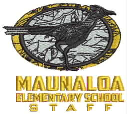 Maunaloa Elementary Staff - Mens Silk Touch Performance Polo (K540)