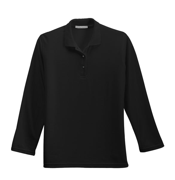 Regional Dispatch Center - Ladies Silk Touch Long Sleeve Polo (L500LS)
