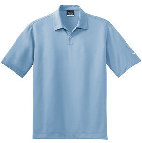 Kaiulani Elementary School Staff Uniform-Mens Nike Golf-373749 Dri-FIT Pebble Texture Polo.