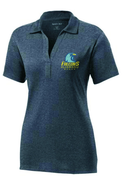 Aliamanu Elementary - Staff Ladies Heather Contender™ Polo. LST660