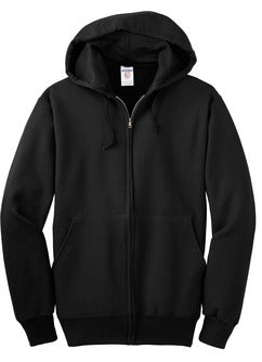 Washington Middle School Zip Hoodie - Black