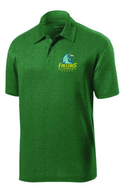 Aliamanu Elementary - Staff Heather Contender™ Polo. ST660