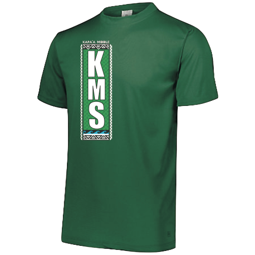 Kapaa Middle School Performance Dri-Fit - 8th Grade (Forest Green)
