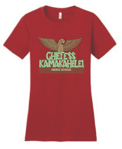 Chiefess Kamakahelei Middle School - 6th Grade Uniform - Wahine Crew Neck