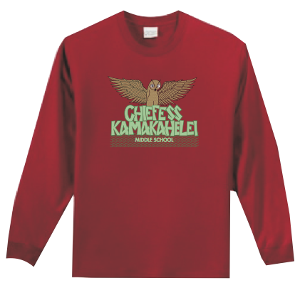 Chiefess Kamakahelei Middle School - 6th Grade Uniform - Long Sleeve