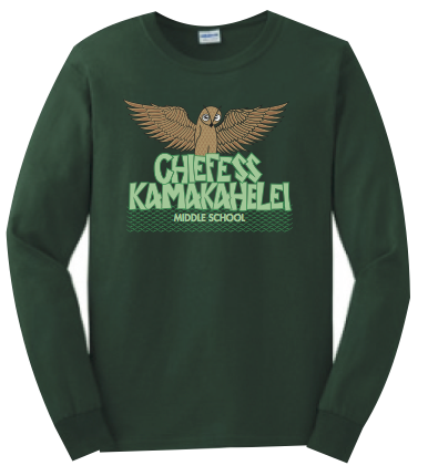 Chiefess Kamakahelei Middle School - 7th Grade Uniform - Long Sleeve