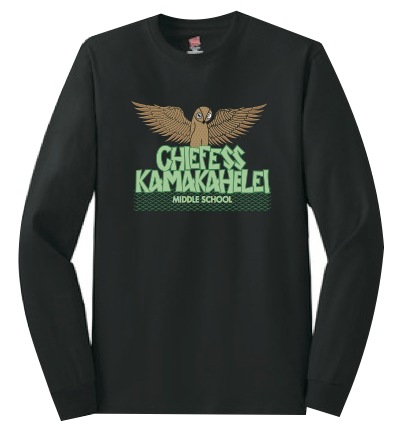 Chiefess Kamakahelei Middle School - 8th Grade Uniform - Long Sleeve