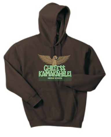 Chiefess Kamakahelei Middle School Pullover Hoodie - Brown