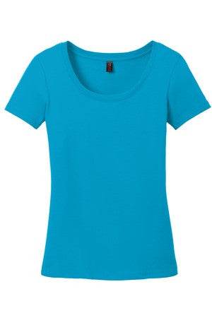 KAPUNAHALA STAFF - District Made Ladies Perfect Weight Scoop Tee - DM106L