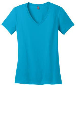 ***KAPUNAHALA STAFF - Ladies Perfect Weight® V-Neck Tee. DM1170L.