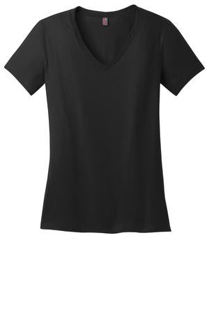 KAPUNAHALA STAFF - Ladies Perfect Weight V-Neck Tee - DM1170L