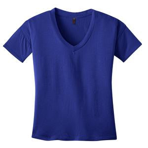 KAPUNAHALA STAFF - District Made - Ladies Modal Blend Relaxed V-Neck Tee - DM480