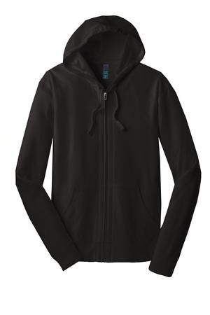KAPUNAHALA STAFF - District Young Mens Jersey Full-Zip Hoodie - DT1100