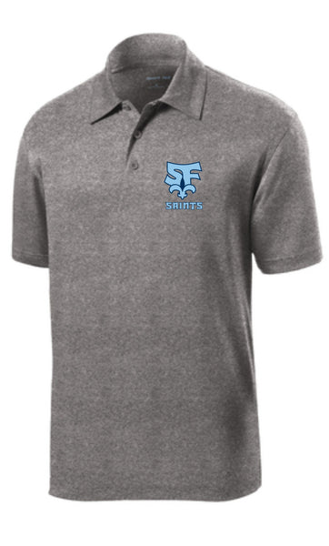 Saint Francis School - Sport-Tek® Heather Contender™ Polo ST660