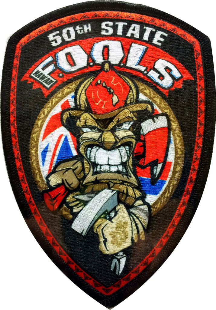 50th State F.O.O.L.S- Official Patch