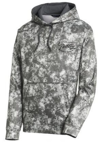 Aliamanu Middle School Staff - Sport-Tek Sport-Wick Mineral Freeze Fleece Hooded Pullover ST230