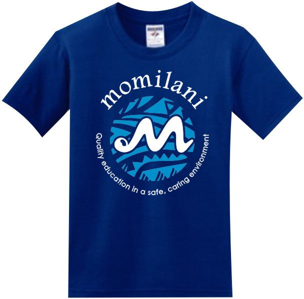 Momilani Elementary School T-Shirt - Royal Blue