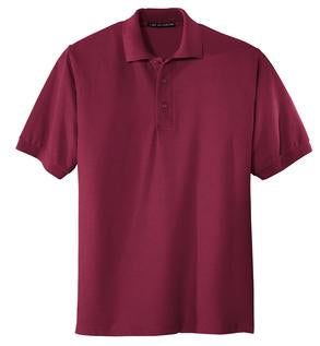 KAPUNAHALA STAFF - Port Authority - Mens Silk Touch Polo (A2XL-A6XL) - K500