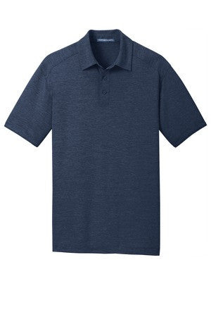New! Port Authority® Mens Digi Heather Performance Polo. K574