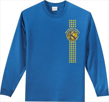 Kula Kaiapuni Elementary School - Long Sleeve - Royal Blue