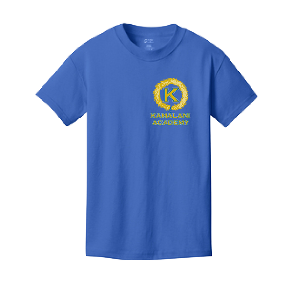 Kamalani Academy - Cotton Short Sleeve (Royal)