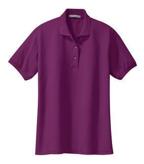 HBA Staff: Port Authority® Ladies Silk Touch™ Polo