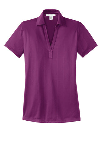 August Ahrens Staff - Ladies Performance Fine Jacquard Polo (L528)