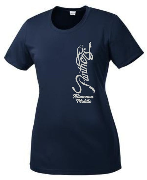 Aliamanu Middle Staff - Ladies PosiCharge Tee (LST350)