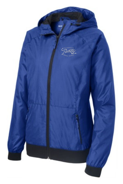 Aliamanu Middle Staff - Ladies Embossed Hooded Jacket (LST53)
