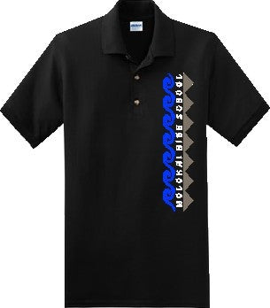 Molokai High School Uniform - Unisex Polo - Black