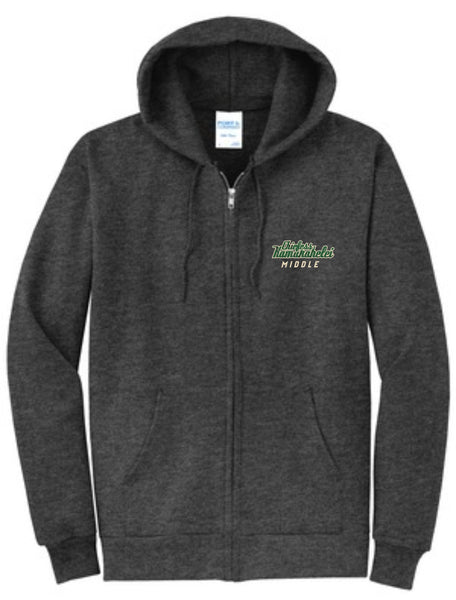 Chiefess Kamakahelei Middle School Zipper Hoodie- Staff