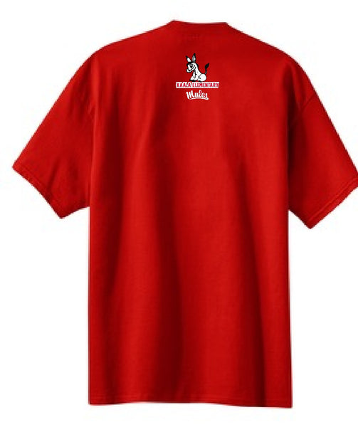 Kaala Elementary School - Tribal Tee - Red