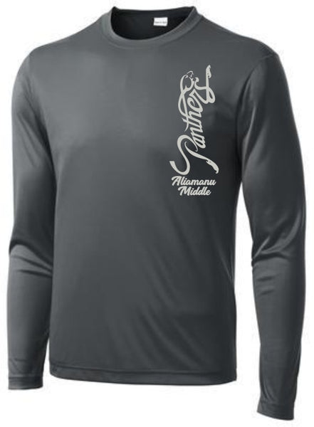 Aliamanu Middle Staff - Long Sleeve PosiCharge Tee (ST350LS)