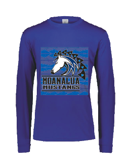 Moanalua Middle School  Performance Long Sleeve