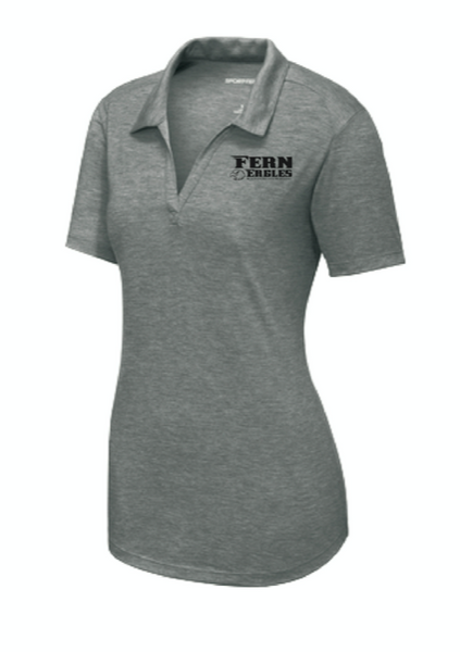 FERN STAFF- Sport-Tek ® Ladies PosiCharge ® Tri-Blend Wicking Polo- LST405