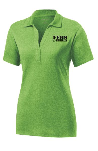 FERN STAFF- Sport-Tek - Ladies Heather Contender Polo- LST660